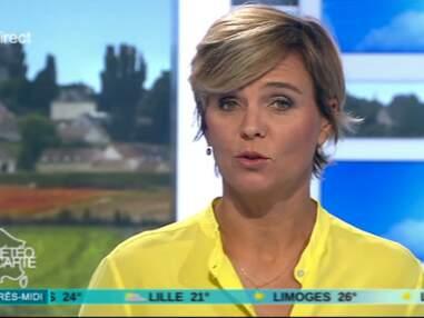 Looks à la télé : Bérengère Krief transparente, Audrey Fleurot très rose