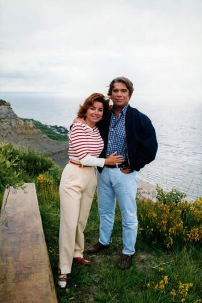 Mais sa véritable force, c'est sa famille et notamment Dominique, sa seconde épouse