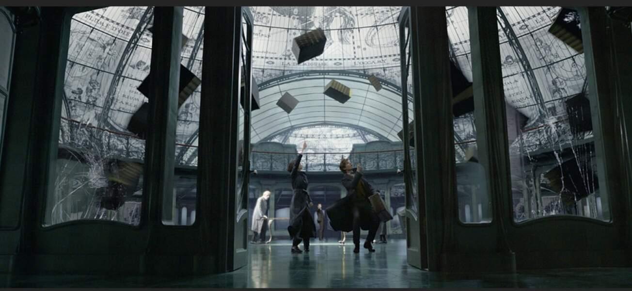 On découvre l'incroyable ministère des affaires magiques de Londres et son style très art déco