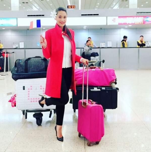 Le saviez-vous : la Première Dauphine de Miss France 2015, Hinarere Taputu, concourt à Miss Monde.