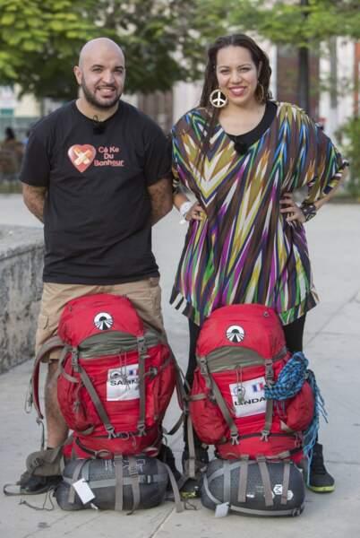 Salim et Linda, les amoureux voyageurs