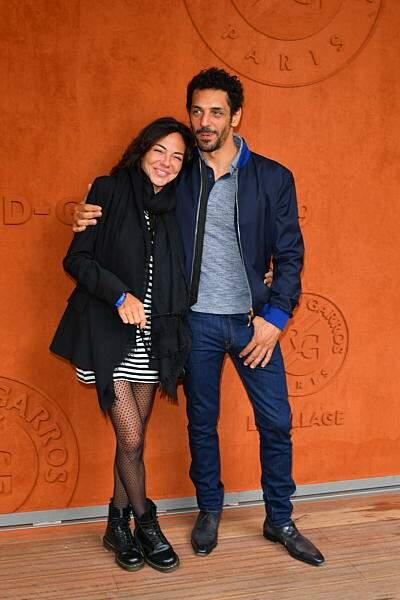 Tomer Sisley et sa compagne Sandra Zeitoun De Matteis