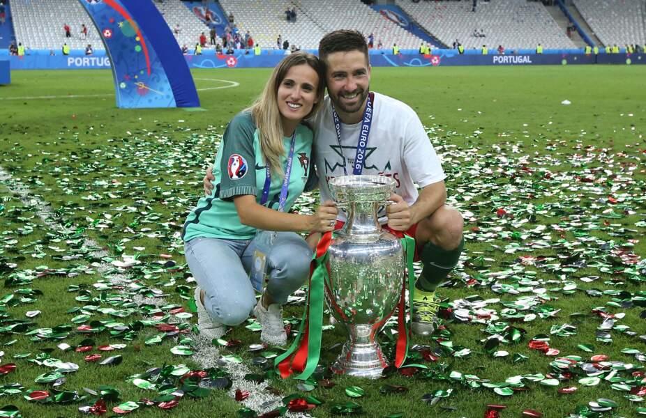 Joao Moutinho savoure ses victoires avec Ana Sofia Gomes