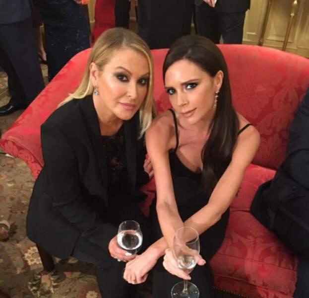 Le saviez-vous ? Victoria Beckham et la chanteuse Anastasia sont potes.