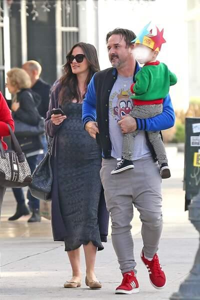 Christina Mc Larty, femme de David Arquette, attend leur deuxième enfant. MàJ : leur fils est né le 8 mars