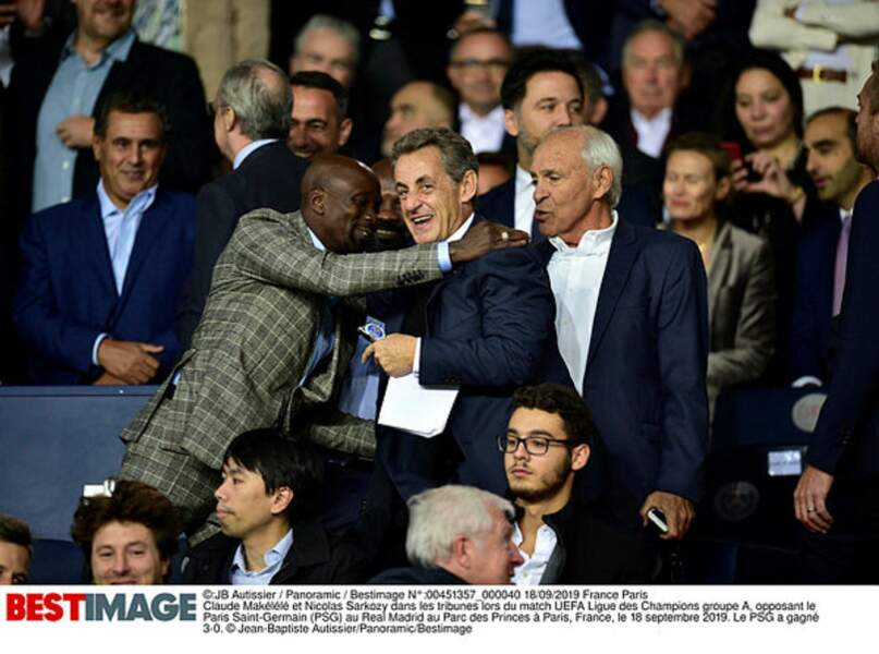 Nicolas Sarkozy ne rate pas un match du PSG