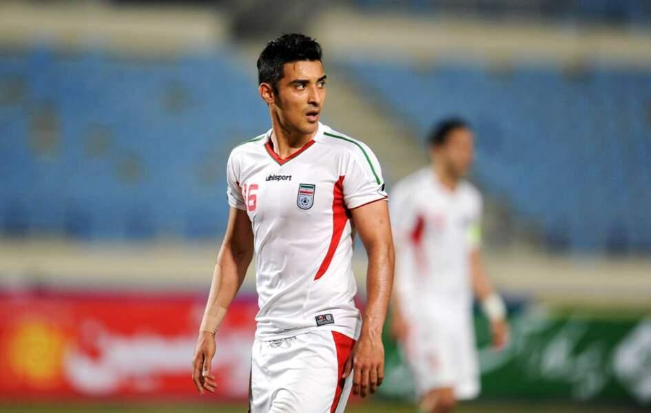 Le footballeur iranien Reza Nournia Ghoochannejhad, 26 ans