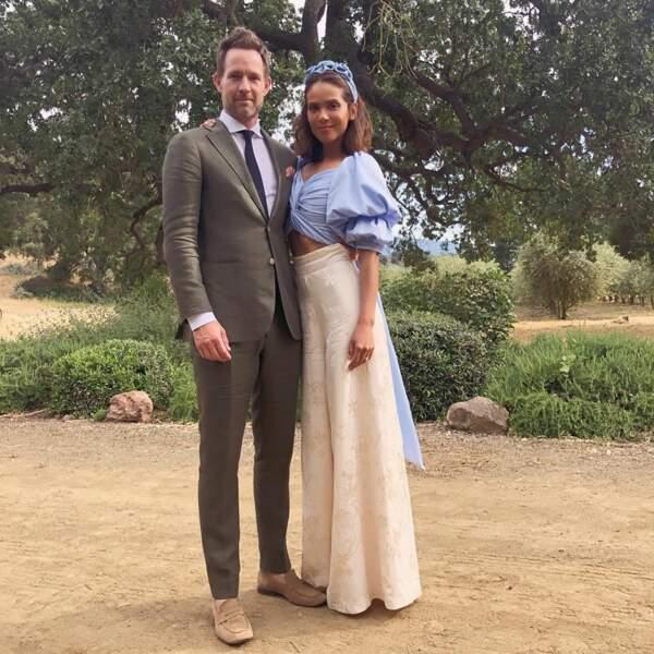Lesley-Ann Brandt, alias Maze, est venue accompagnée de son mari, l'acteur Chris Payne Gilbert (Charmed, Bones)
