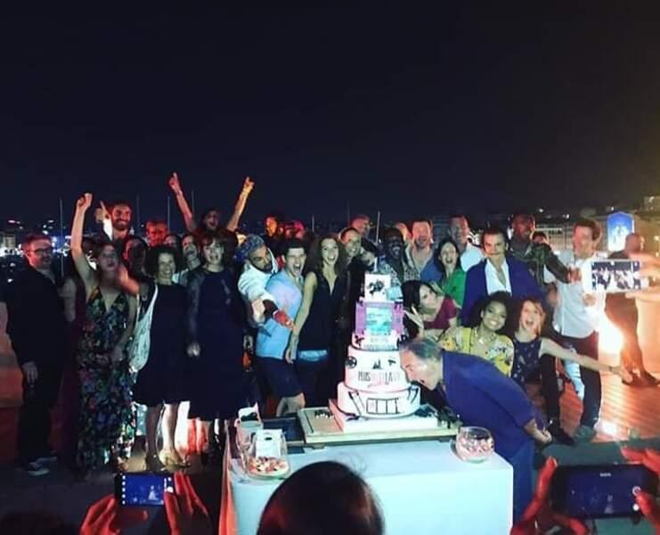 Les stars de Plus belle la vie ont fait la fête fin juin 2019 pour célébrer les 15 ans de la série !