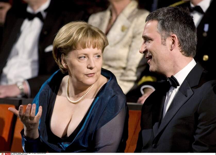 Même la chancelière allemande attire tous les regards notamment celui du premier ministre Norvégien.