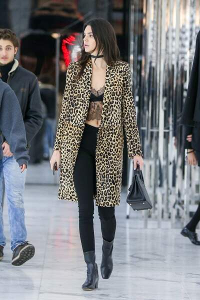 Kendall Jenner adore les tenues sexy