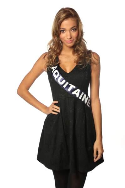 Camille Gafa, Miss Aquitaine 2013