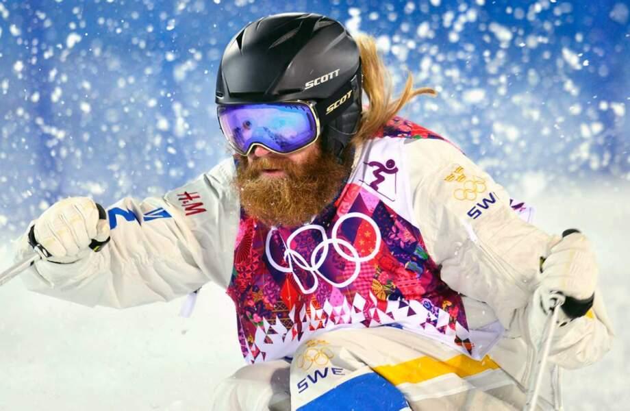 Ludvig Fjallstrom, le Sébastien Chabal du ski de bosses