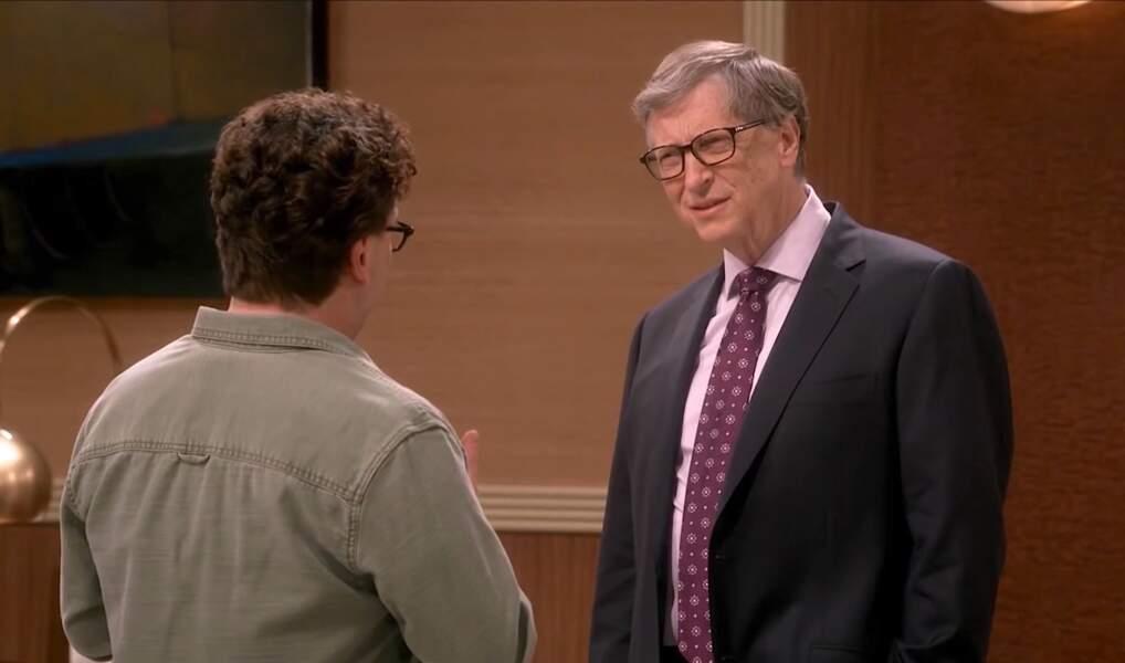 Autre invité de marque : Bill Gates, le créateur de Microsoft