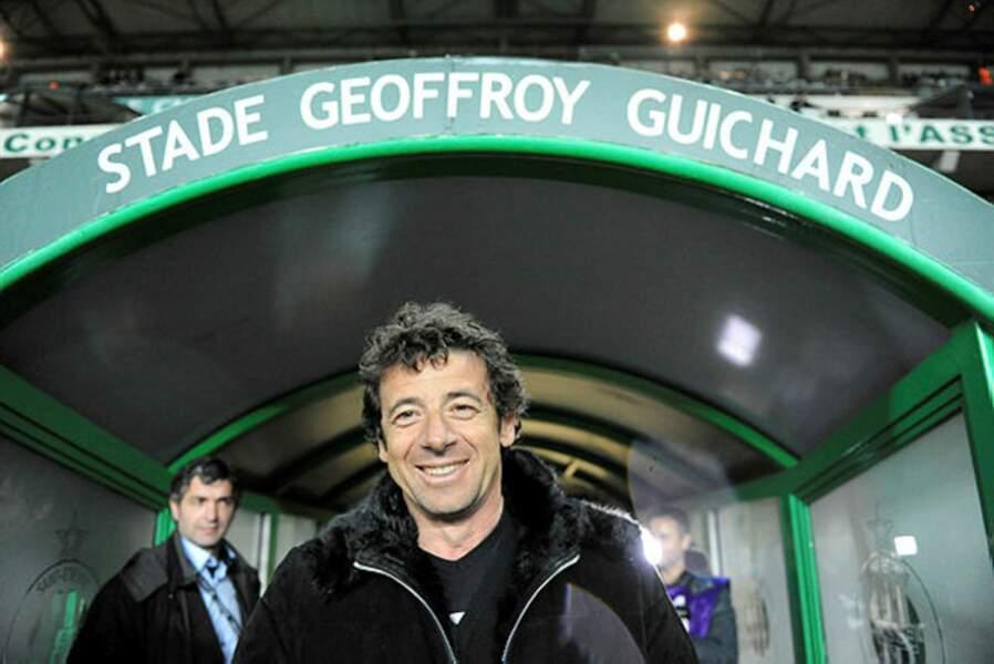 Fan de foot absolu, Patrick Bruel aime les Verts…