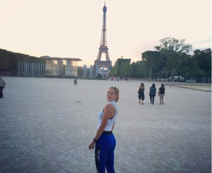 Victoria Azarenka préfère, elle, la tour Eiffel