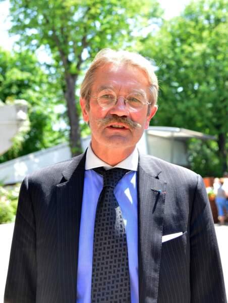 Frédéric Thiriez, le président de la LFP, moustache frétillante.