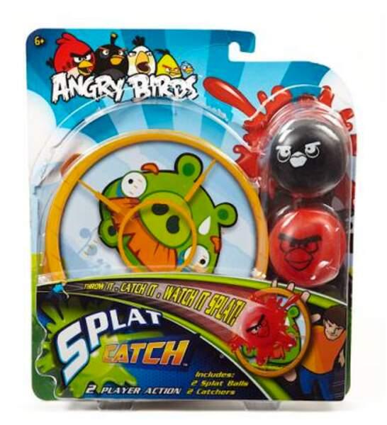 Jeu de raquettes et balles collantes Angry Birds