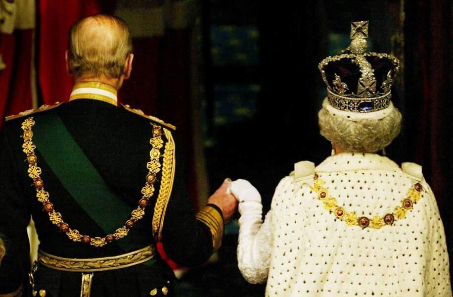 Et c'est ensemble que Elisabeth II, bientôt 90 ans, et Philip d'Edimbourg, 95 ans, comptent bien finir leur vie