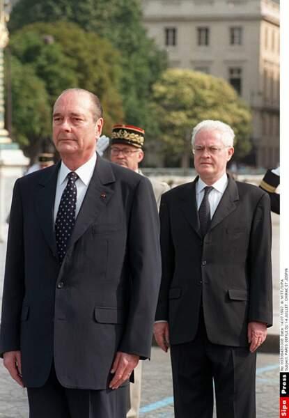 1997 : après la dissolution manquée de l'Assemblée nationale, le Président Chirac goûte (peu) la cohabitation