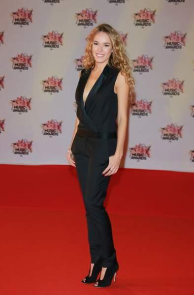 Elodie Fontan aux NRJ Music Awards 2015 à Cannes