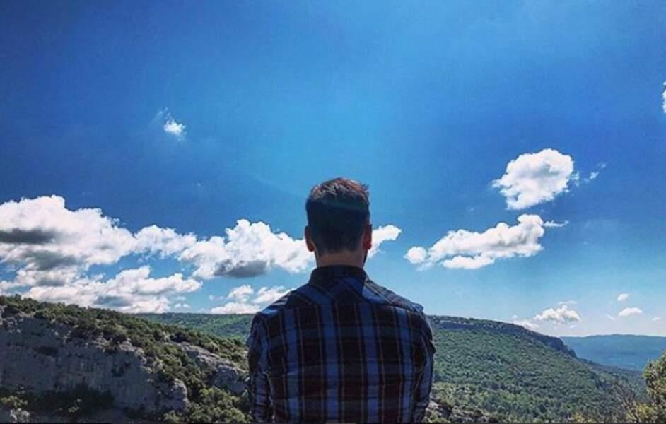 Le beau ciel bleu de Provence !
