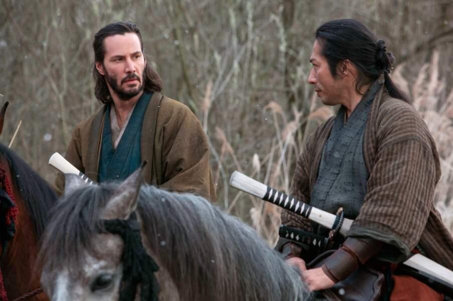 Dans 47 Ronin (2013)  l'acteur manie le sabre comme personne !