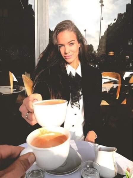 Et même un cappuccino !