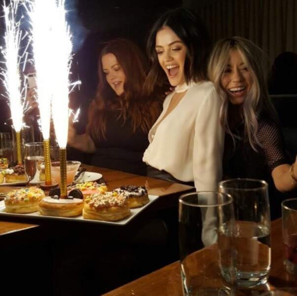 La star de Pretty Little Liars Lucy Hale vient de fêter ses 28 ans