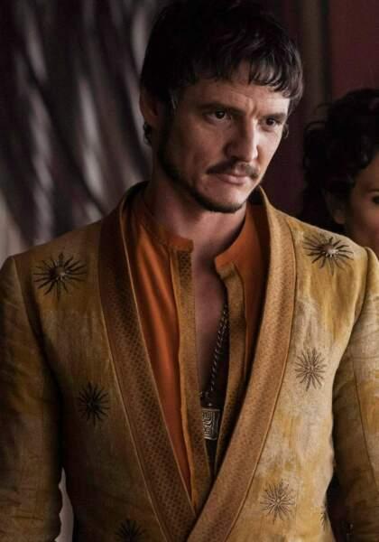 Oberyn Martell (Pedro Pascal) : T'avais de beaux yeux tu sais... (Saison 4 épisode 8)