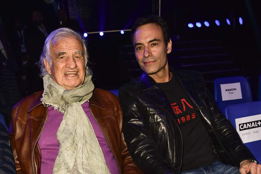 Jean-Paul Belmondo et Anthony Delon