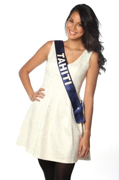 Mehiata Riaria, Miss Tahiti 2013