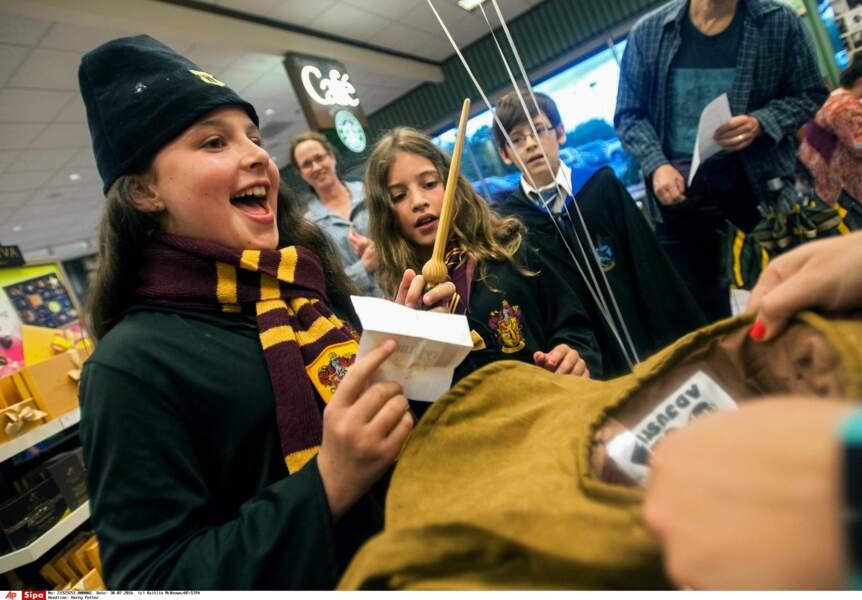 La sortie de ce nouveau livre de Harry Potter a donné lieu à de nombreuses animations