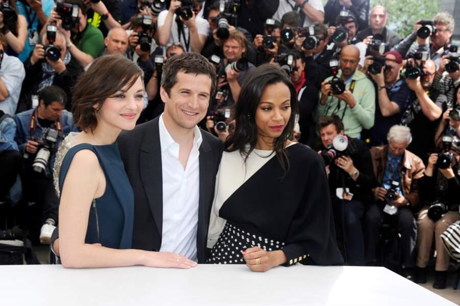 D'ailleurs, Guillaume Canet est pas mal entouré entre Marion Cotillard et Zoe Saldana.