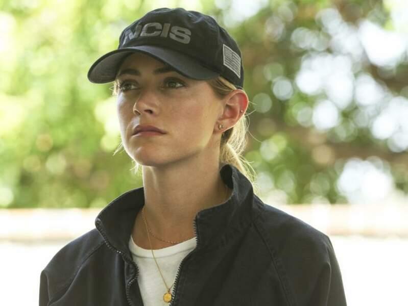 Emily Wickersham (Eleanor Bishop) est toujours aussi courageuse et digne successeur du personnage de Ziva.