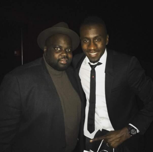 Issa Doumbia a posé avec Blaise Matuidi.
