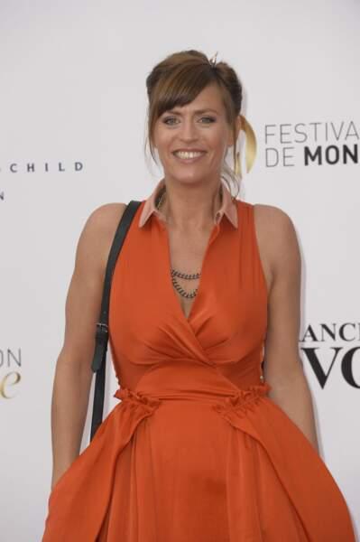 L'actrice française Anne Caillon.
