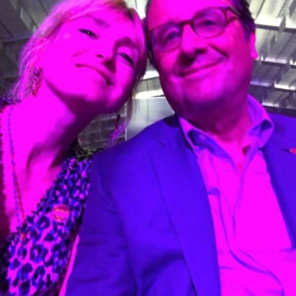 ... mais aussi Julie Gayet et François Hollande.