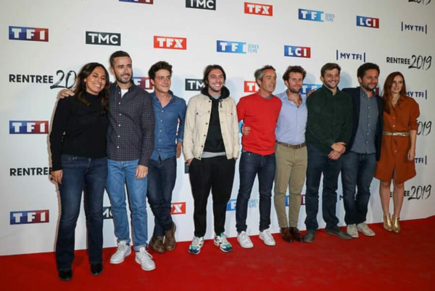 L'équipe de Quotidien, l'émission de Yann Barthès, est venue (presque) au grand complet !