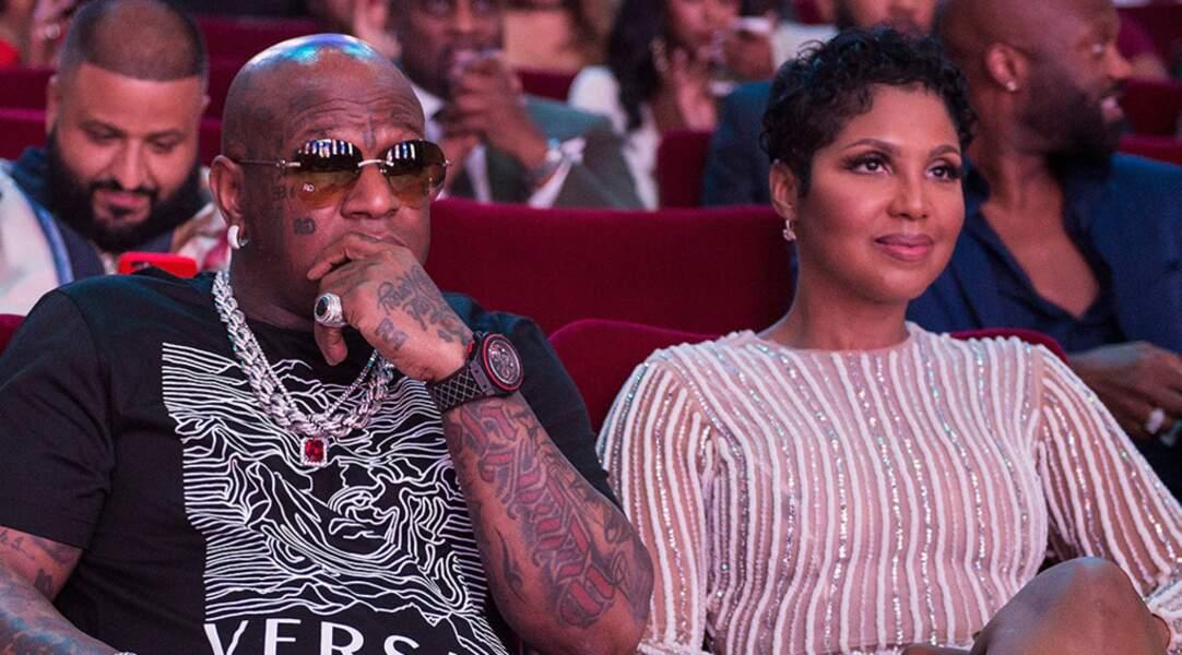 Le rappeur Birdman et la chanteuse des années 90 Toni Braxton.