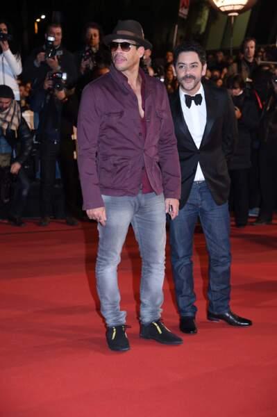 Manu Payet et Joey Starr sur le tapis rouge des NRJ Music Awards