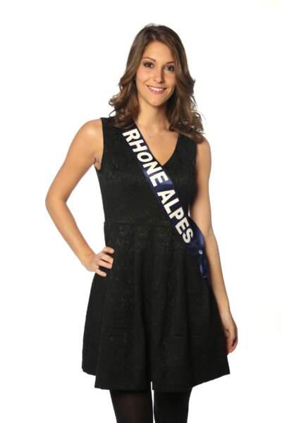 Mylène Angelier, Miss Rhône-Alpes 2013