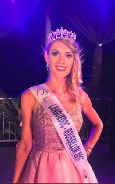 Alizée Rieu (20 ans) a été élue Miss Languedoc-Roussillon