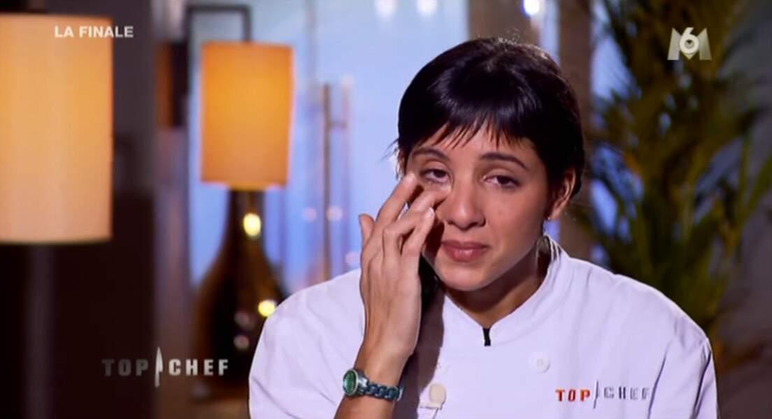 Surprise : Naoelle pleure. La première fois dans l'émission.