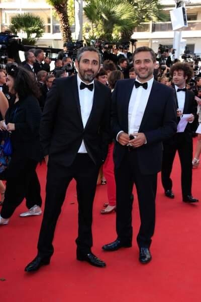 """La montée des marches pour """"Youth"""" au Festival de Cannes."""