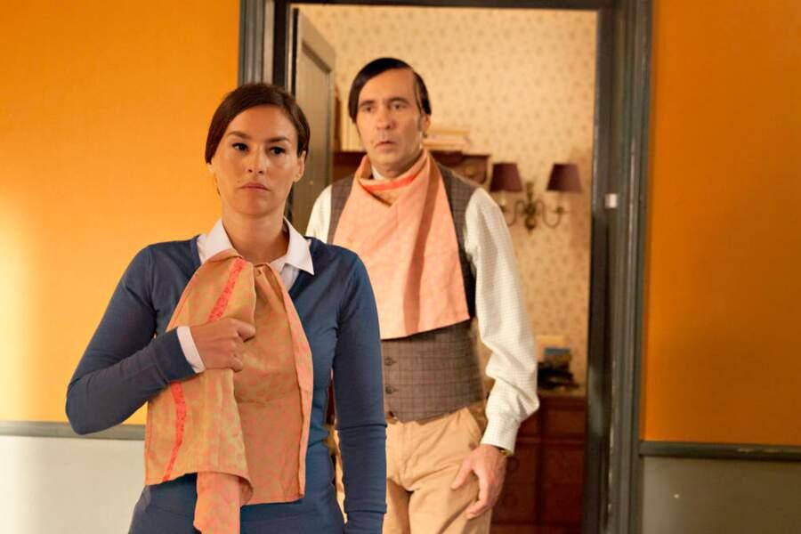 Quant à Vanessa Demouy, sachez qu'elle met une serviette pour manger. La propreté avant tout !