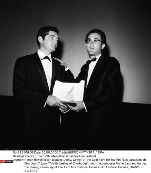 … et Les Parapluies de Cherbourg obtient la Palme d'or au Festival de Cannes en 1964