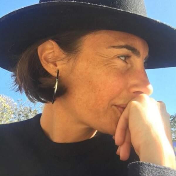 Tout comme Daphné Bürki, Alessandra Sublet a choisi d'inscrire le prénom de ses enfants sur son corps