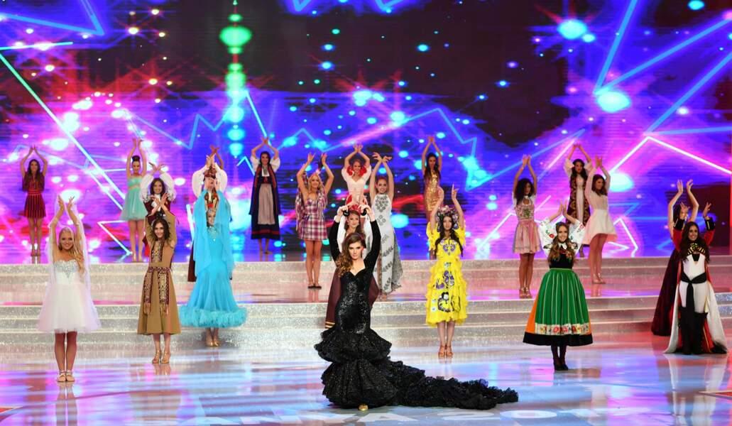 Les participantes à Miss Monde 2017, qui s'est déroulé dans la province de Hainan, dans le sud de la Chine