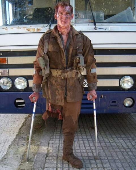 Jack Eyers a également joué les grands blessés dans des films de guerre